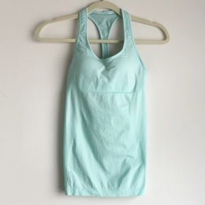 Lululemon • Light Blue Sleeveless Workout Top